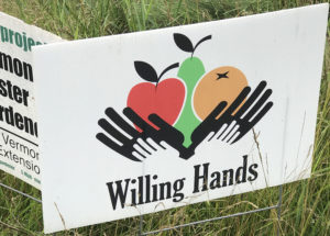 Willing Hands Sign